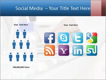 Man Typing On White Laptop PowerPoint Templates - Slide 5