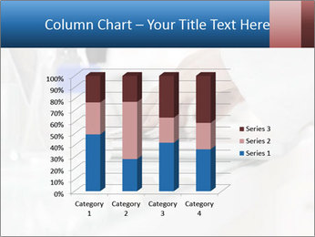 Man Typing On White Laptop PowerPoint Template - Slide 50