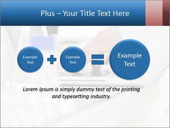 Man Typing On White Laptop PowerPoint Templates - Slide 75