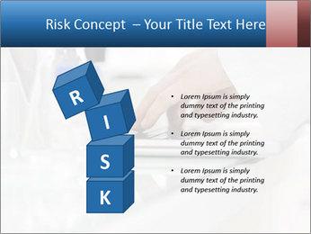 Man Typing On White Laptop PowerPoint Templates - Slide 81