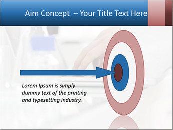 Man Typing On White Laptop PowerPoint Templates - Slide 83