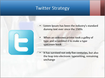 Man Typing On White Laptop PowerPoint Templates - Slide 9