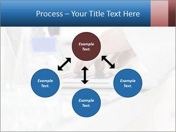 Man Typing On White Laptop PowerPoint Templates - Slide 91
