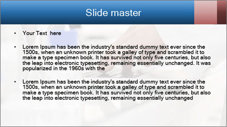 Man Typing On White Laptop PowerPoint Template - Slide 2