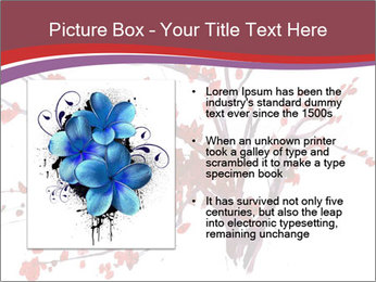 Japanese Cherry Tree PowerPoint Template - Slide 13