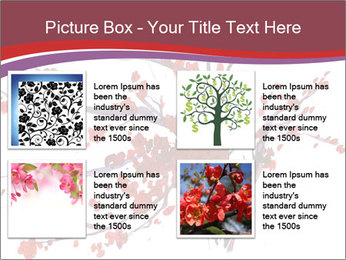 Japanese Cherry Tree PowerPoint Template - Slide 14