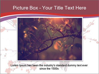 Japanese Cherry Tree PowerPoint Template - Slide 16