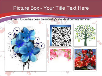 Japanese Cherry Tree PowerPoint Template - Slide 19