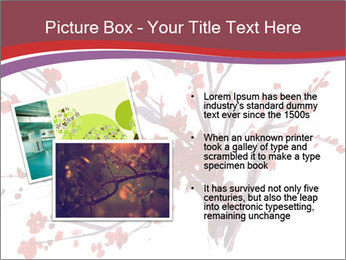 Japanese Cherry Tree PowerPoint Template - Slide 20