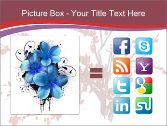 Japanese Cherry Tree PowerPoint Template - Slide 21