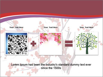 Japanese Cherry Tree PowerPoint Template - Slide 22