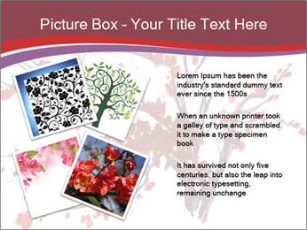 Japanese Cherry Tree PowerPoint Template - Slide 23