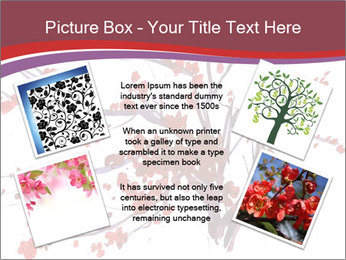 Japanese Cherry Tree PowerPoint Template - Slide 24