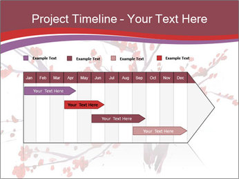 Japanese Cherry Tree PowerPoint Template - Slide 25