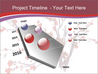 Japanese Cherry Tree PowerPoint Template - Slide 26