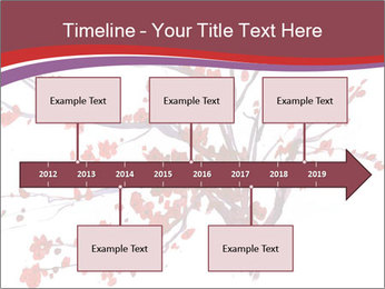 Japanese Cherry Tree PowerPoint Template - Slide 28