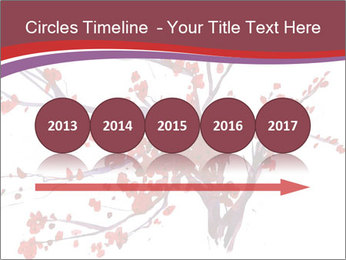 Japanese Cherry Tree PowerPoint Template - Slide 29