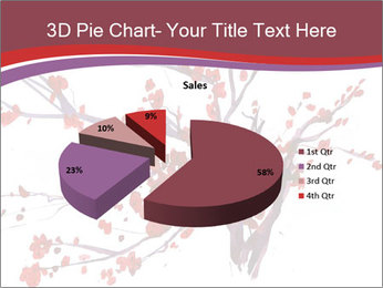 Japanese Cherry Tree PowerPoint Template - Slide 35