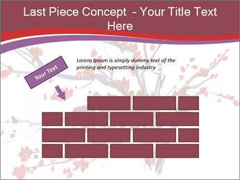 Japanese Cherry Tree PowerPoint Template - Slide 46