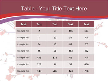 Japanese Cherry Tree PowerPoint Template - Slide 55