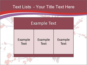 Japanese Cherry Tree PowerPoint Template - Slide 59