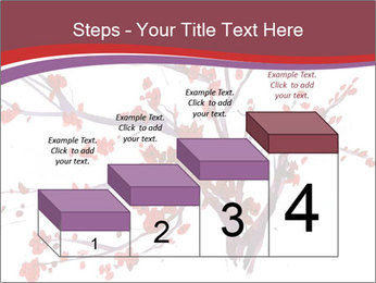Japanese Cherry Tree PowerPoint Template - Slide 64