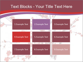 Japanese Cherry Tree PowerPoint Template - Slide 68