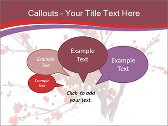 Japanese Cherry Tree PowerPoint Template - Slide 73