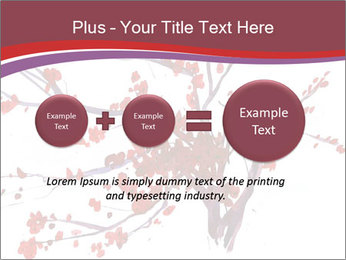Japanese Cherry Tree PowerPoint Template - Slide 75
