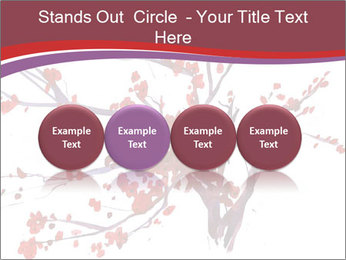 Japanese Cherry Tree PowerPoint Template - Slide 76