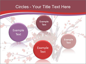 Japanese Cherry Tree PowerPoint Template - Slide 77