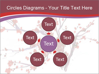 Japanese Cherry Tree PowerPoint Template - Slide 78