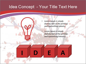 Japanese Cherry Tree PowerPoint Template - Slide 80