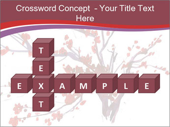 Japanese Cherry Tree PowerPoint Template - Slide 82