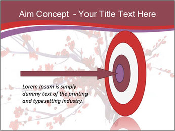 Japanese Cherry Tree PowerPoint Template - Slide 83