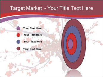 Japanese Cherry Tree PowerPoint Template - Slide 84