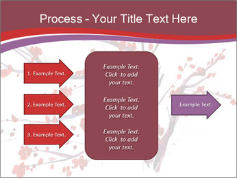 Japanese Cherry Tree PowerPoint Template - Slide 85