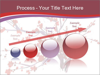 Japanese Cherry Tree PowerPoint Template - Slide 87