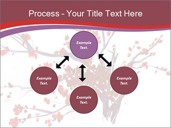 Japanese Cherry Tree PowerPoint Template - Slide 91