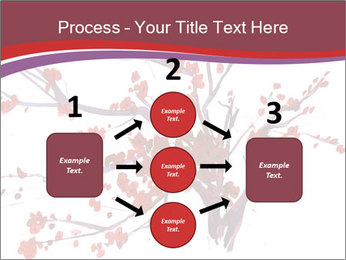 Japanese Cherry Tree PowerPoint Template - Slide 92
