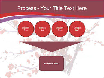Japanese Cherry Tree PowerPoint Template - Slide 93