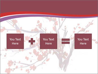 Japanese Cherry Tree PowerPoint Template - Slide 95