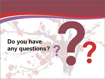 Japanese Cherry Tree PowerPoint Template - Slide 96