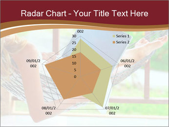 Woman In Hammock With Laptop PowerPoint Template - Slide 51