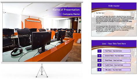 IT School PowerPoint Template