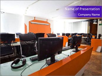 IT School PowerPoint Template - Slide 1