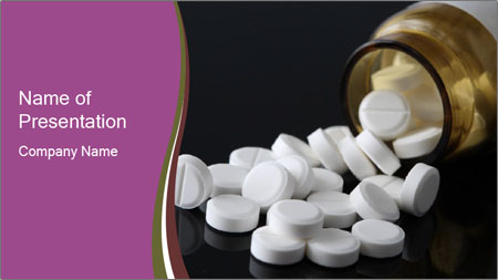Painkiller Pills PowerPoint Template