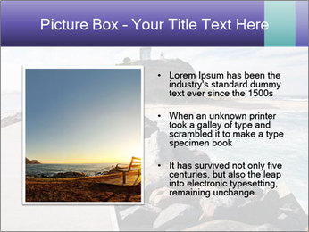 Road To Lighthouse PowerPoint Template - Slide 13