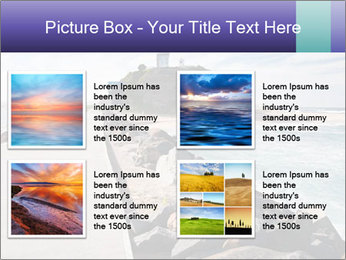 Road To Lighthouse PowerPoint Template - Slide 14