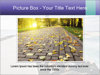 Road To Lighthouse PowerPoint Template - Slide 16